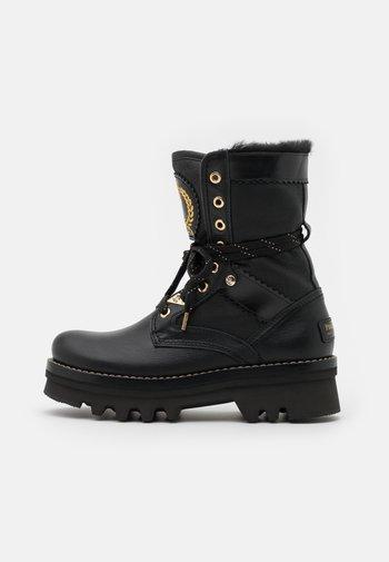 MARILYN IGLOO - Platform ankle boots - black