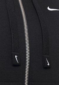 Nike Performance - DRY GET FIT  - Zip-up hoodie - black/white - 6