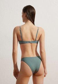 OYSHO - Bikini bottoms - blue grey - 2