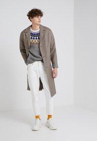 Won Hundred - BEN - Straight leg jeans - tinted white distressed - 1