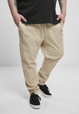 TAPERED COTTON  - Trousers - concrete