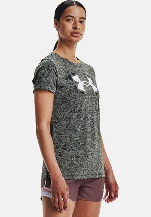 TECH TWIST GRAPHIC SSC - Camiseta estampada - grey