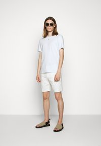 James Perse - CREW NECK - T-shirt basic - grey glacier - 1