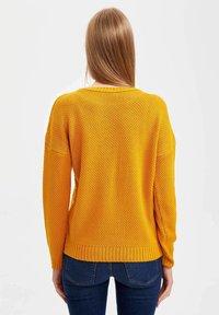 DeFacto - Maglione - yellow - 1