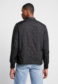 Diamond Supply Co. - MONOGRAM JACKET - Summer jacket - black - 2