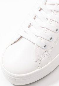 No Name - PLATO - Sneakers laag - white/black - 2