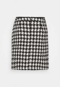 Wallis - DOGTOOTH - Mini skirt - mono - 1