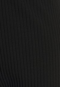Monki - CLARA TOUSERS - Kangashousut - black dark - 2