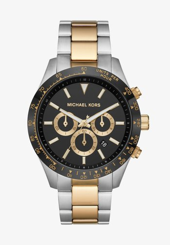 LAYTON - Chronograph watch - silver coloured/gold coloured