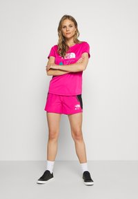 The North Face - GLACIER TEE - T-shirt print - pink - 1