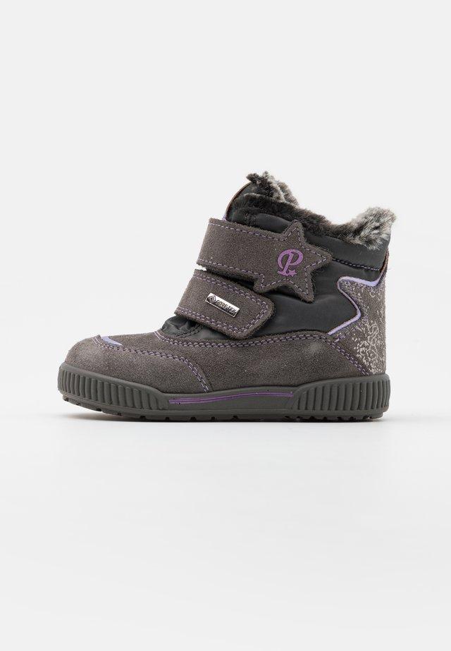 Lær-at-gå-sko - grigio