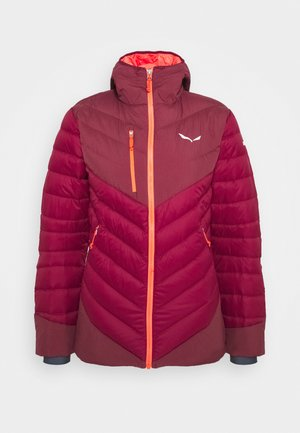 ORTLES MEDIUM - Down jacket - rhodo red