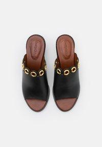 See by Chloé - STEFFI MULE - Pantofle na podpatku - black - 4
