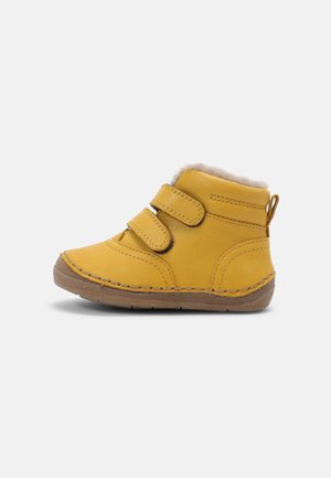 PAIX WINTER UNISEX - Classic ankle boots - yellow