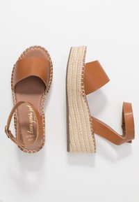 New Look Wide Fit - WIDE FIT POPPINS - Espadrilky - tan - 3