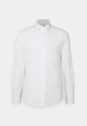 SHIRT WITH RUBBER SEAL - Shirt - white