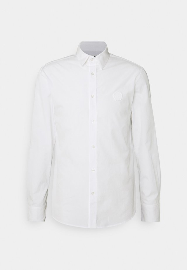 SHIRT WITH RUBBER SEAL - Overhemd - white