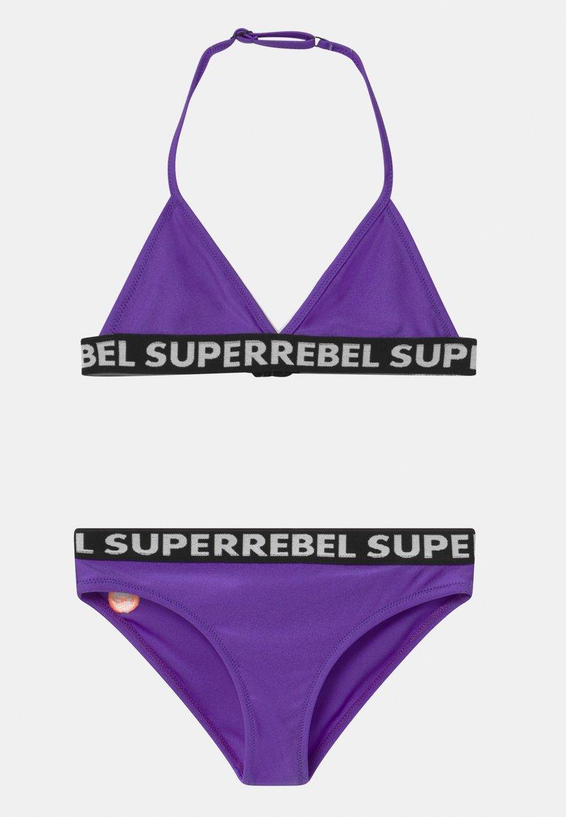 SuperRebel - SET - Bikini - fluo purple