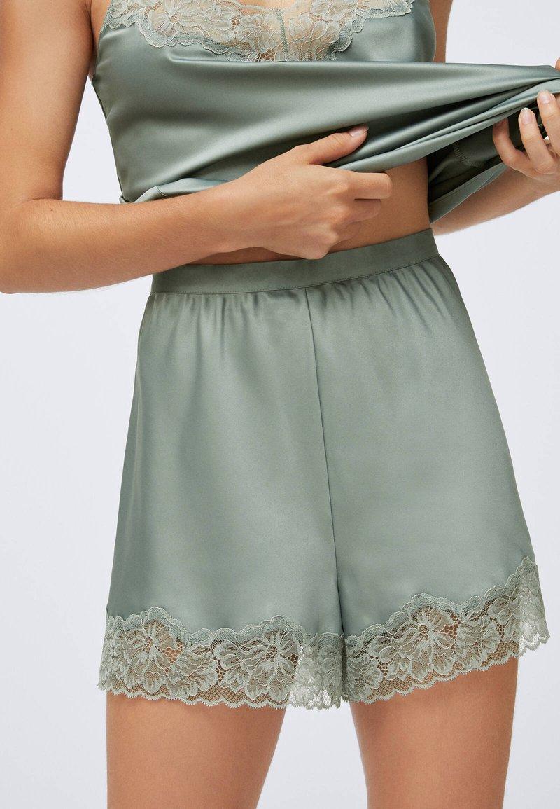 OYSHO - Pyjama bottoms - khaki