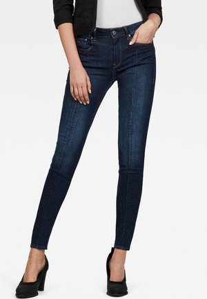 3301-L HIGH SKINNY - Jeans Skinny Fit - dark blue