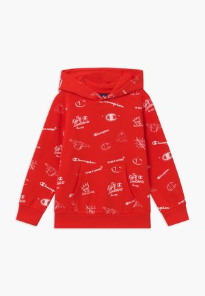 LEGACY AMERICAN CLASSICS HOODED - Mikina s kapucí - red