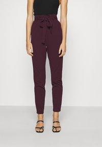JDY - JDYTANJA PANT - Trousers - winetasting - 0