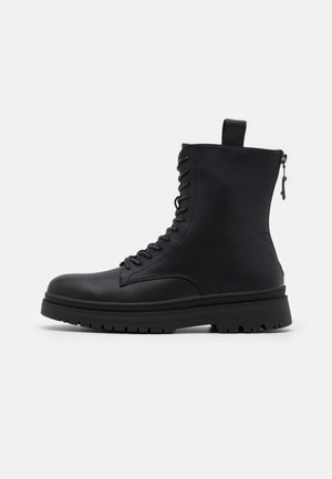 VEGAN STANLEE - Lace-up ankle boots - black
