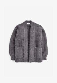 Next - FLUFFY LONG - Cardigan - grey - 0
