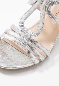 Divine Factory - Sandales à talons hauts - silver - 2