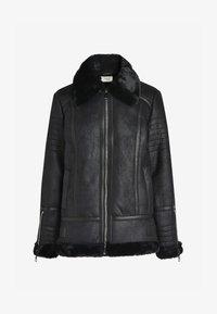 Next - Faux leather jacket - black - 3
