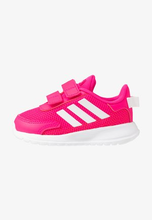 TENSAUR RUN UNISEX - Neutral running shoes - shock pink/footwear white/shock red