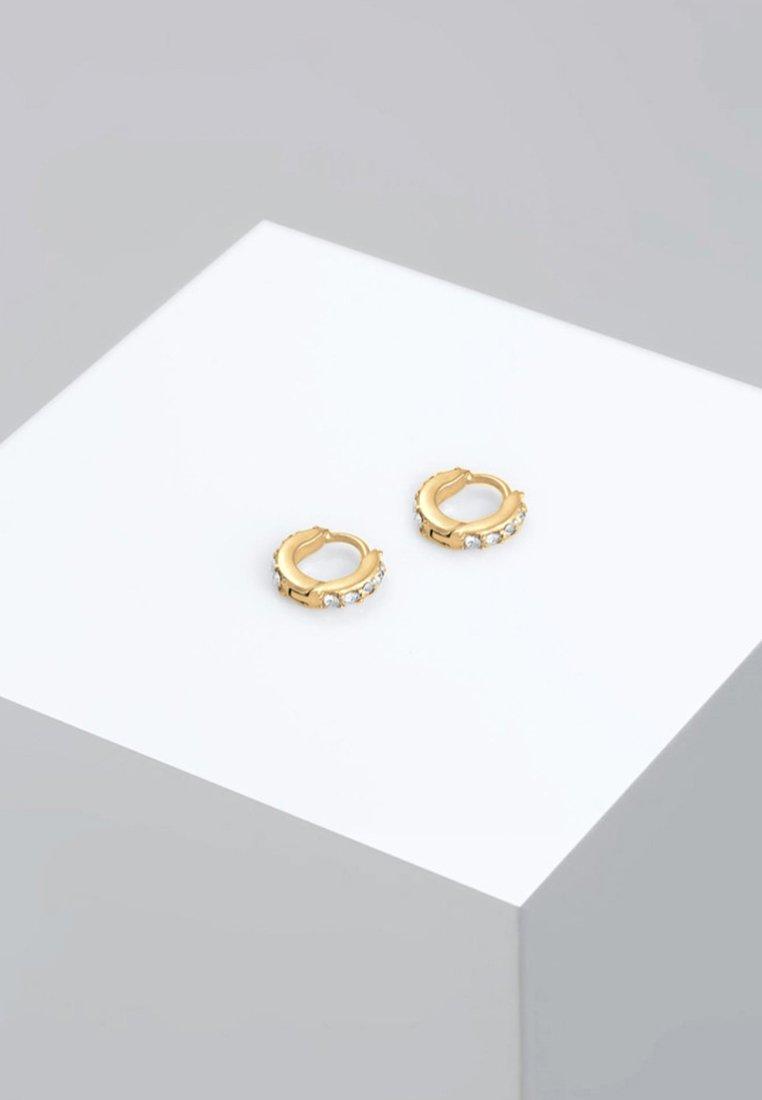 Elli - GLASS CRYSTAL - Earrings - gold