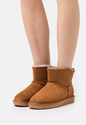 Ankle boot - camel