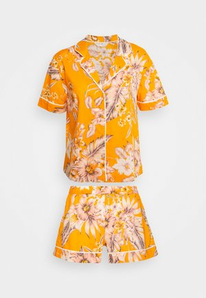 HANGING SHORT SET - Pyjamas - yellow
