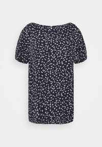 edc by Esprit - BLOUSE - Camiseta estampada - navy - 0