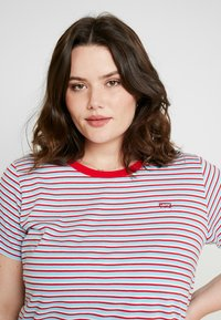Levi's® Plus - PERFECT CREW - Print T-shirt - koronis baltic sea - 3