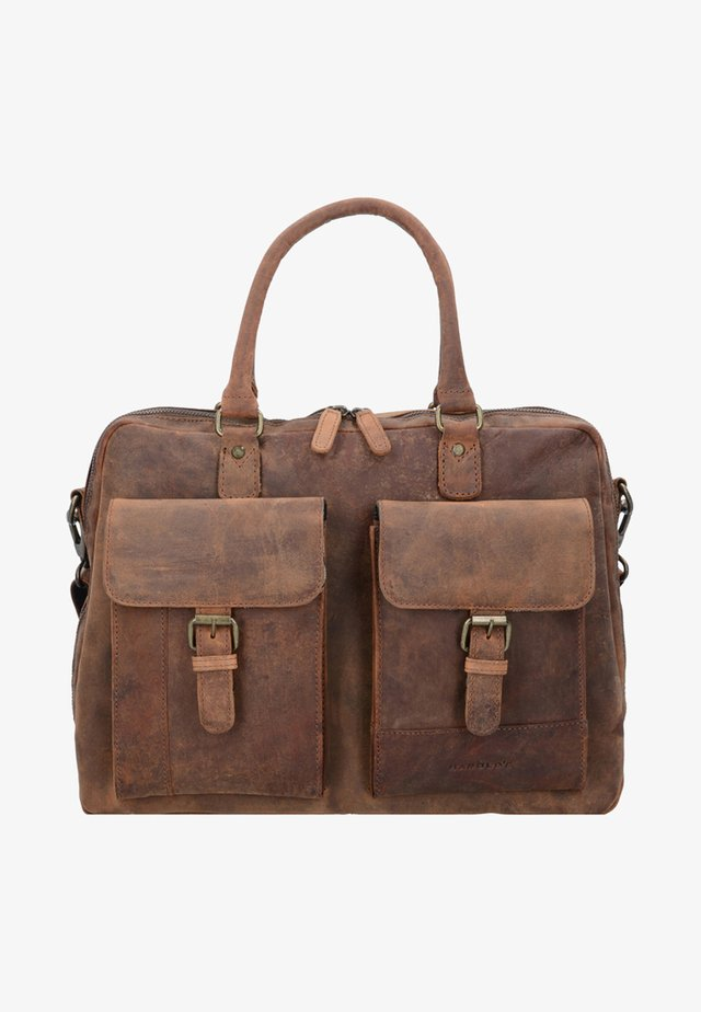Laptop bag - brown