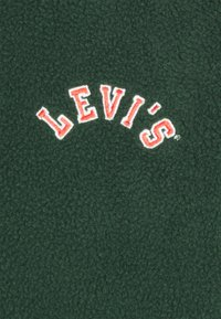 Levi's® - QUARTER ZIP POLAR UNISEX - Zip-up hoodie - dark green/dark blue - 2