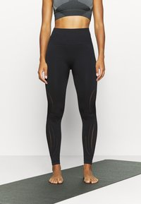 Even&Odd active - SEAMLESS - Trikoot - black - 0