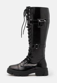 ALDO - SADIYA - Botas con cordones - black - 1
