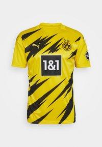 Puma - BVB BORUSSIA DORTMUND HOME REPLICA - Club wear - cyber yellow/black - 5