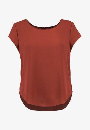ONLVIC SOLID  - Basic T-shirt - henna