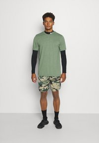 Nike Performance - DRY SHORT CAMO - Sports shorts - sequoia/black - 1