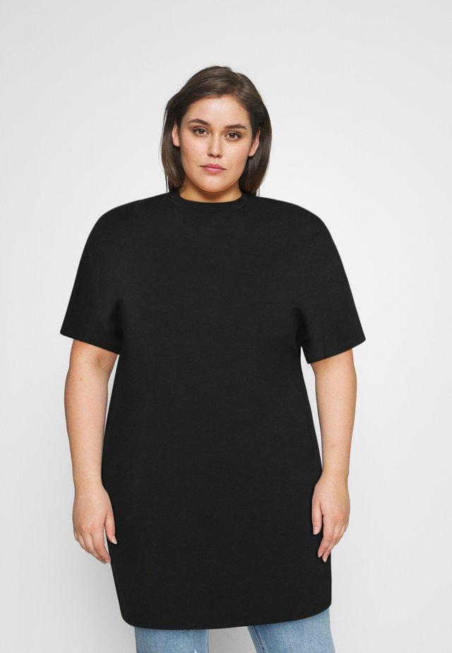 TSHIRT DRESS - Jerseyjurk - black