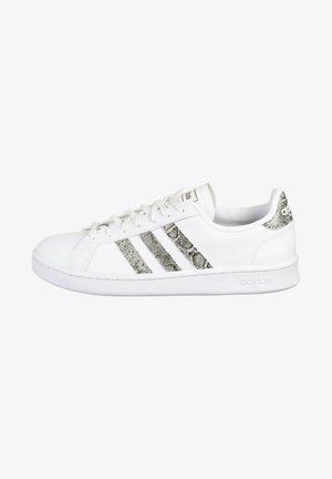 Baskets basses - footwear white  grey two core black