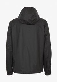 Champion Reverse Weave - JACKET - Regnjakke / vandafvisende jakker - black - 1