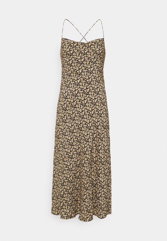TAKE ME AWAY BIAS SLIP - Korte jurk - multi-coloured