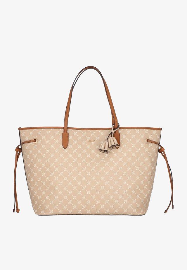 CORTINA - Shopping bag - nude