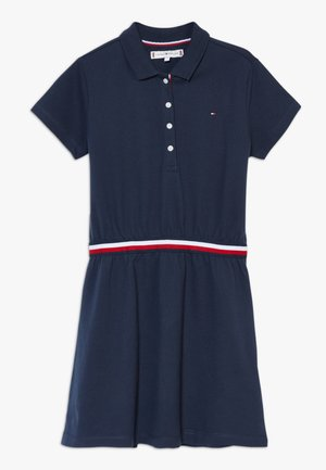 GLOBAL STRIPE  DRESS  - Jerseyjurk - blue