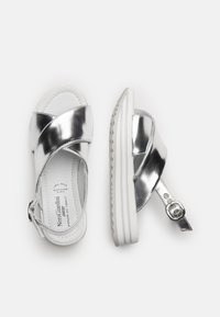 NeroGiardini - Platform sandals - argento - 2